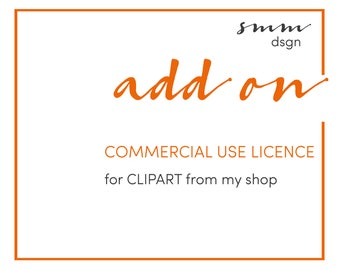 Commercial Use License for Clipart and Illustrations