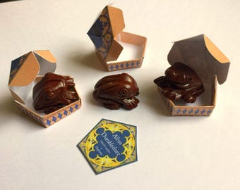"""American Food 18"""" Girl Doll Harry Potter - Inspired Chocolate Frog Set Wizard Candy, Honeydukes - inspired Accessory Mini"""