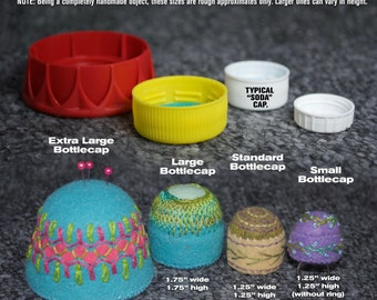 ADD ON: Upsize your Bottlecap Pincushion to one of two larger sizes