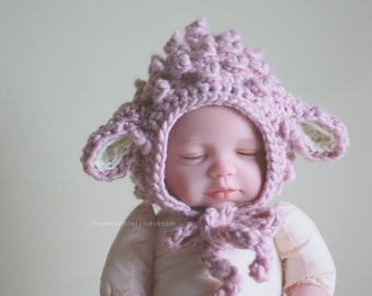 Lamb Hat - Pink Lamb Hat