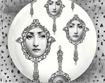 Lina Cavalieri mirrors plate