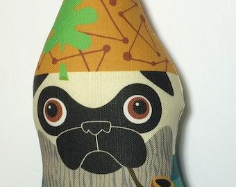 Small Fawn Pugnome Plush
