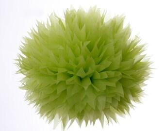 Groovy Green -1 Large Tissue Paper Pom Poms