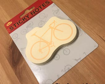 Bicycle Sticky Notes