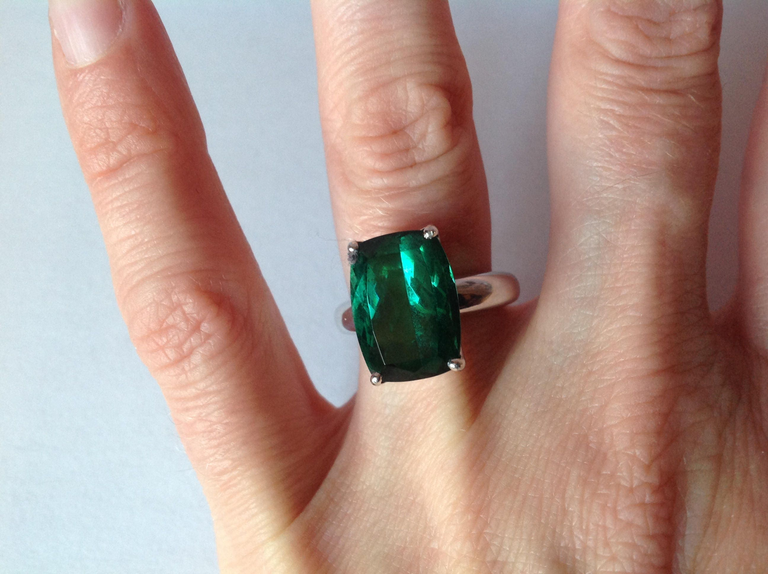 thread tourmaline engagament rocks in white jewellery and london green rings halo ring carat teal products sold emerald grain with cut an mount gold