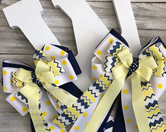 Little Miss Polka - Equestrian Bows & Ships FREE!!