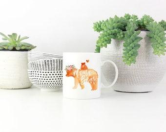 Mama Bear, Mama Bear Mug, Gifts for Mom, Mother's Day Gift, Mom Gift, Coffee Mug, Custom Mug, Personalized Mug, Mother's Day Mug, Mom Mug