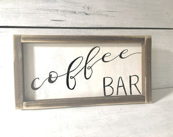 Coffee Sign | Coffee Bar