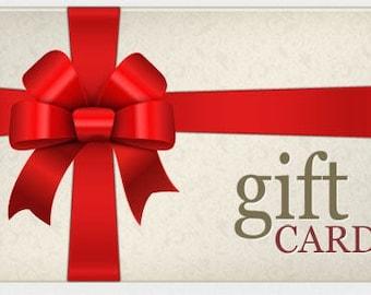 Gift voucher 10 Euro-gift card 10 euro