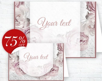 Pink Peonies Tent Cards Pink flowers Seating Cards Fschion Food cards Buffet Labels pink Party Favors Peonies Place Cards Party labels Decor
