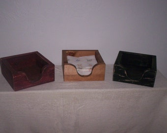 Appy Wooden Napkin Holder - Set of 2 Holders