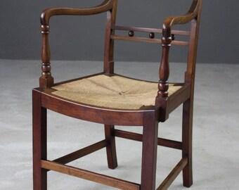Mahogany Carver Desk Chair