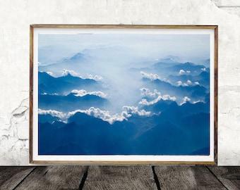 Clouds, Cloud Print, Digital Wall Art, Sky, Sky Print, Art Print