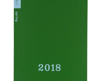 A6 Hobonichi weekly Spring edition 2018 planner calendar March 26th 2018 start