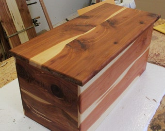 Cedar Chest, Storage Chest, Wooden Chest, Graduation Gift, Wedding Gift,  Keepsake
