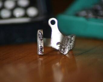 Rabbit™ Typewriter Ring (Pound Sign/Hashtag)