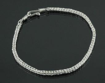 Handmade Double Loop in Loop Bracelet
