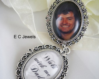Custom Photo/Memorial Bouquet Charm