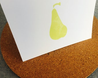 I Pear About You Greeting Card