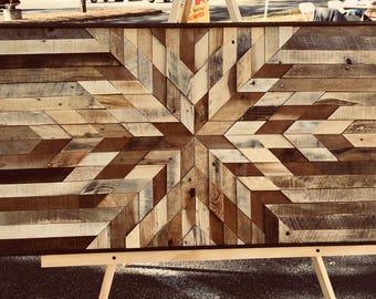 Starburst In Wood Tones