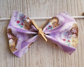 Belle | Beauty and the Beast | Hairbow |