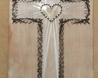 Christian Cross String Art - Design Your Own!