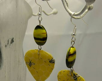 Bees! Earrings