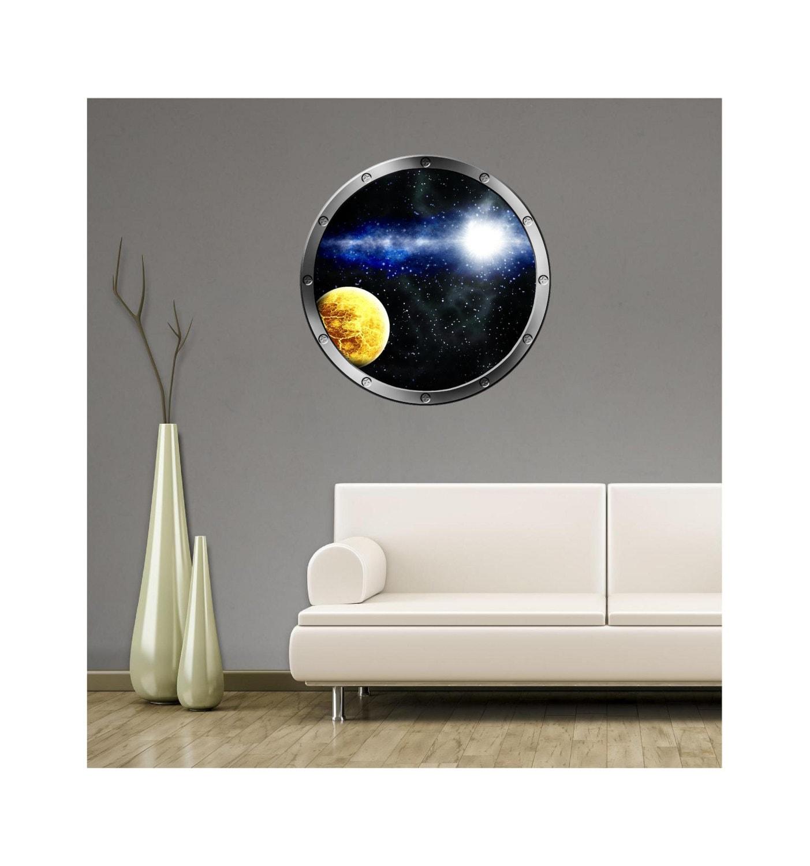 36 espacio exterior ojo de buey barco ventana ver estrellas y