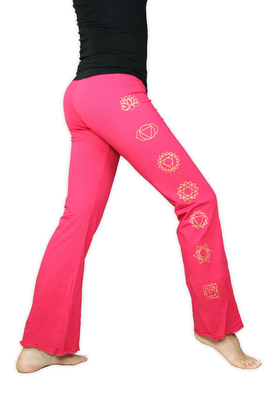 Chakra Yoga Pants Lightweight 7 Chakra Yoga Pants Boot Cut