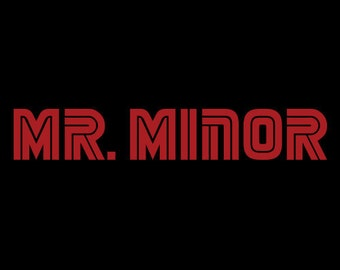 Phish Harry Hood Mr (Robot) Minor Red   Men's