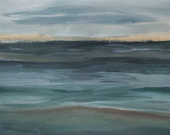 Landscape Painting:  Fluid 'One Session'