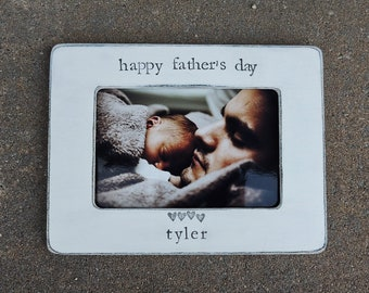 custom Happy father's day frame Personalized picture frame gift for dad grandpa gifts gifts for papa