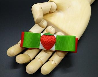 Sweet Strawberry Bow