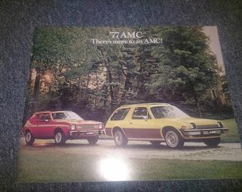 NOS AMC Pacer/Gremlin/ other models sales brochure