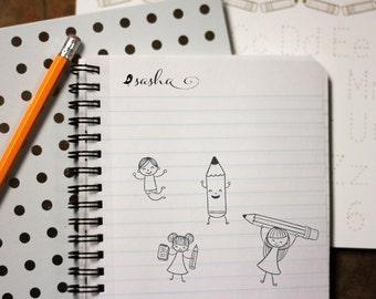 Self Inking Kids Stamp, Personalized Kids Stamp, Custom Stamp, Kids Name Stamp, This Book Belongs to Stamp --12174-EM01-000