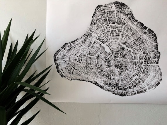 Grand Canyon Tree ring print, Tree rings wall art print, tree ring art, Father's day gifts, Father's day ideas, Best day gift ideas