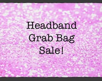 Headband Grab Bag Sale, Grab Bag, Headband Sets, Baby Shower Gift, Baby Headbands, Topknot Headbands, Sale