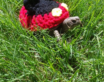 Mouse Costume for Turtles/ Tortoises (Please Provide Measurements)