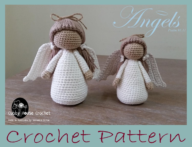 Amigurumi Magazine Pdf : Angel crochet pattern pdf s english swedish dutch