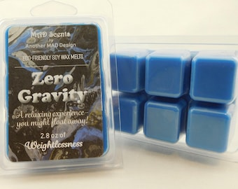 Soy wax melts, highly scented, wax tarts-Zero Gravity