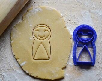 Happy Nun Cookie Cutter, Liturgical Living, Saint Imaginative Play