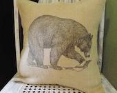 Bear Print Pillow Cover B...