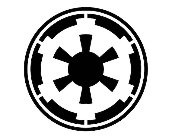 Star Wars Galactic Empire Symbol Decal For Carlaptop