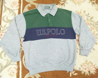vintage POLO ASSOCIATION sweatshirt sIze LL