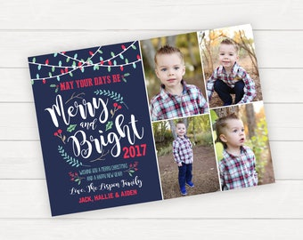 Christmas photo card Christmas Photo Cards Family Photo Card Holiday Card Holiday Photo Card Family Christmas Card Printable Christmas Card