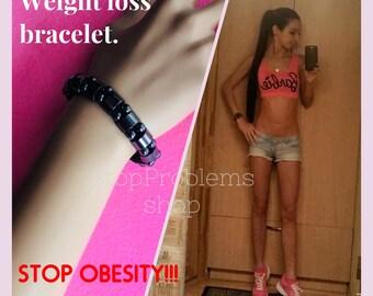 Magnetic Weight Loss Bracelet. Gallstone Bracelet. Slimming stimulation bracelet. For healthy body. STOP OBESITY!