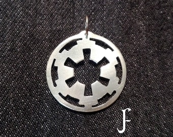 Galactic Empire pendant from Star Wars (totally handmade)