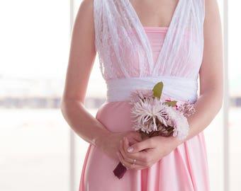 Custom Convertible Dress : Add Lace Straps