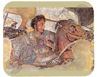 Mouse Pad; Alexander The Great