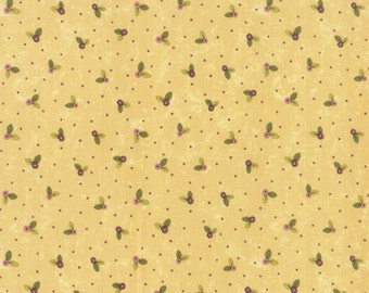 PRINTS CHARMING - Floral Buds Natural - 1/2 YARD - Sandy Gervais - 17845 16 - Yardage - Moda